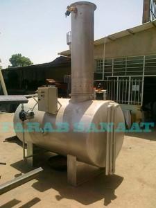 دی اریتور ، سیستم حذف گاز از آب